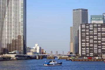 Toyosu District, Tokyo, Japan