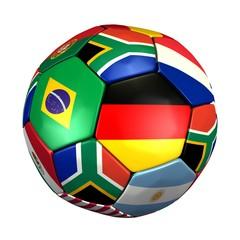 Fussball zur WM 2010