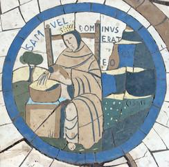 Samuel, mosaic, Church on the Mount of Beatitudes