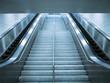 Escalator and stair in underground passage