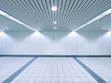 Fototapety Underground passage to subway station