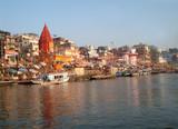 river Ganges, Varanasi poster