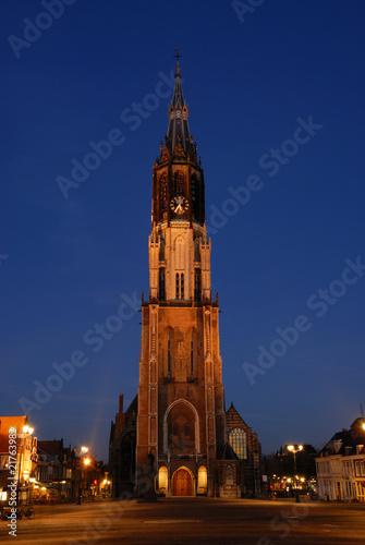 Nieuwe Kerk and Markt, Delft,