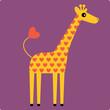 roleta: giraffe vector