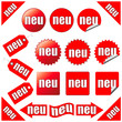 Button-Set, neu