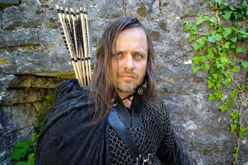 Bogenschütze Robin Hood Portrait