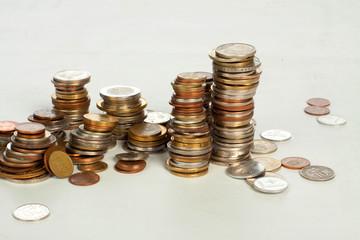 Mixed Coin Stacks