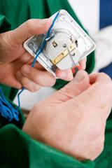repairing the socket