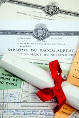 Etudes et diplôme baccalauréat