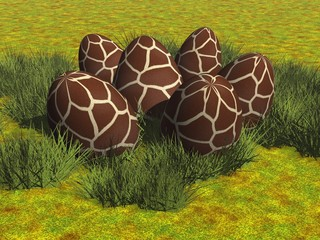 Giraffen-Eier