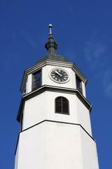 Clocktower in Belgrade, serbia