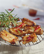 Grilled ribs with rosemary and chilli