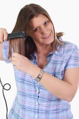 piastra per capelli