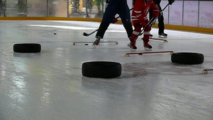 Hockey training