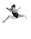 Naklejka ballerina