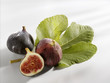 Two whole figs and half a fig