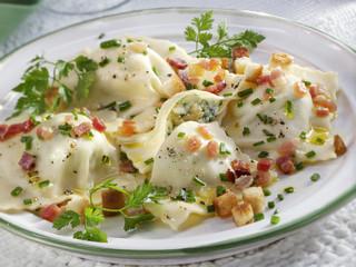 Herb ravioli