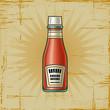 roleta: Retro Ketchup Bottle