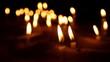 Viele Kerzen