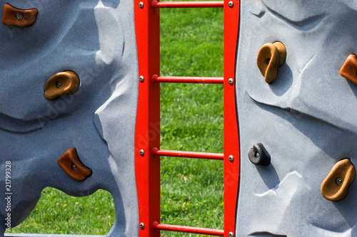 Rock Wall at Children's Playground