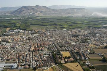 Vista aérea de la localidad de Santa Fe 3
