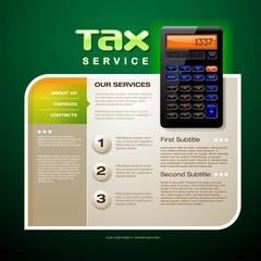 Tax Service Form
