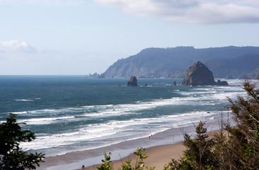 Oregon Coast with Haystacks