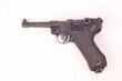Leinwanddruck Bild - Pistole P08