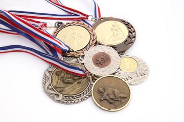 Moisson de médailles
