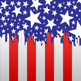 american cityscape poster