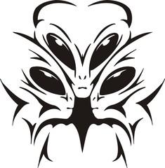 Group aliens make plot.