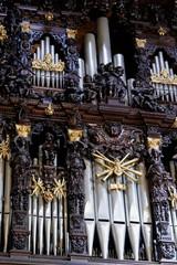 Organo a Canne - Basilica di Tirano (sec.XVI) - Italy