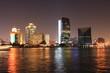 evening lights in dubai, united arab emirates