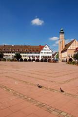 La piazza di Freudenstadt - Germania