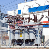 Power station and transformer poster