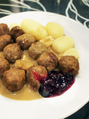 Swedish Meatballs (Kottbullar)