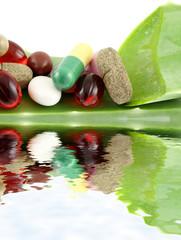 aloe vera, oligo-éléments, compléments alimentaires...