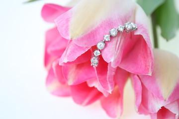宝石と花束