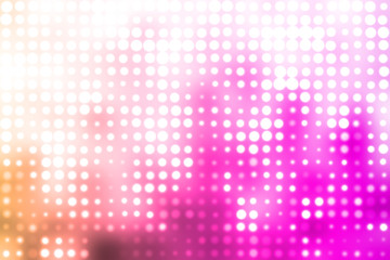 Purple and White Glowing Futuristic Light Background