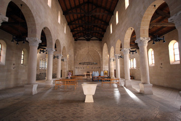 The Church of the Multiplication, Tabgha, Israel