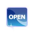 Picto anglais ouvert - Icon OPEN