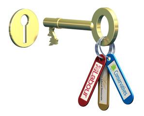 Key to power
