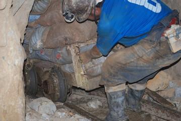 Mineur en action