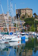 Capodimonte - Viterbo - La Rocca e il porto
