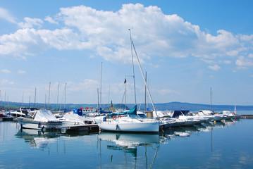 Capodimonte  comune di Viterbo - Il porto - Barche