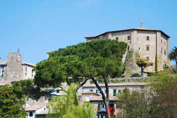 Capodimonte veduta panoramica - Viterbo - La Rocca