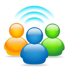 Social network avatar