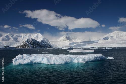 Deurstickers Antarctica Antarctica Iceberg