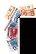 denaro in valigia