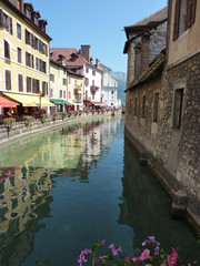 Annecy y canales